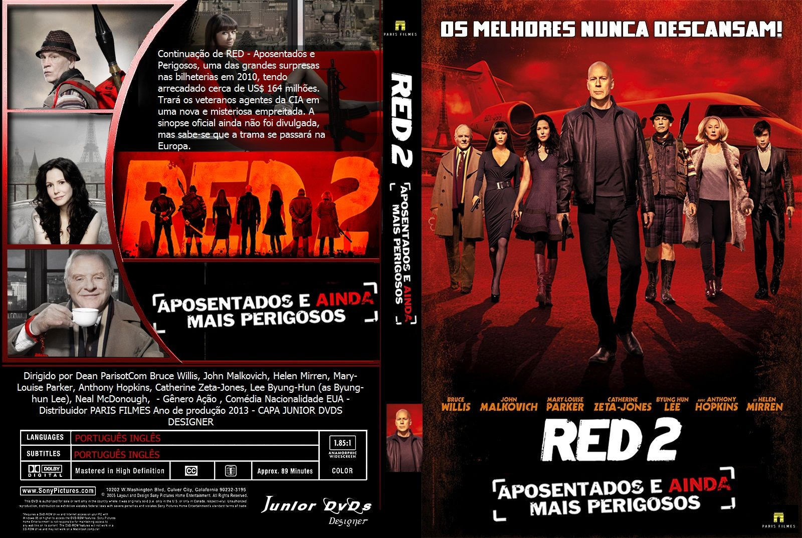 Red 2 Ts Xvid Dublado Com Imagens Baixar Filmes Filmes Bruce