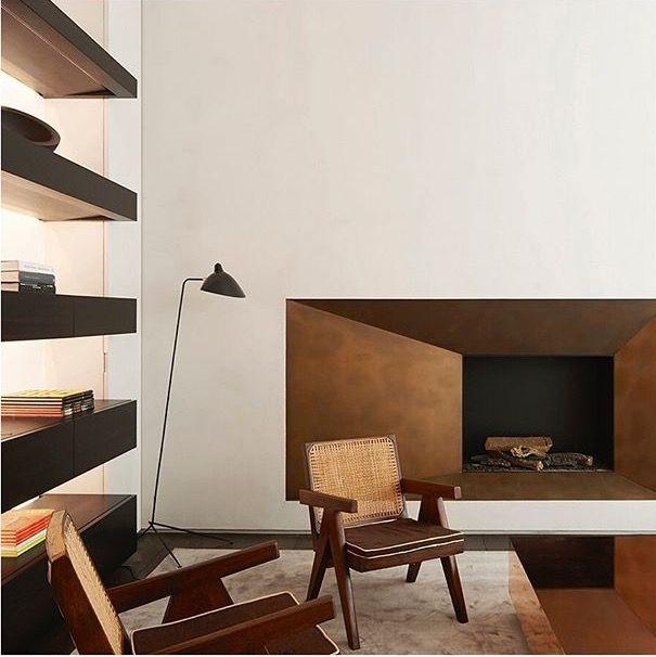 Pin de Julia Nicastro en Fireplaces Pinterest Silla de diseño - diseo de chimeneas para casas