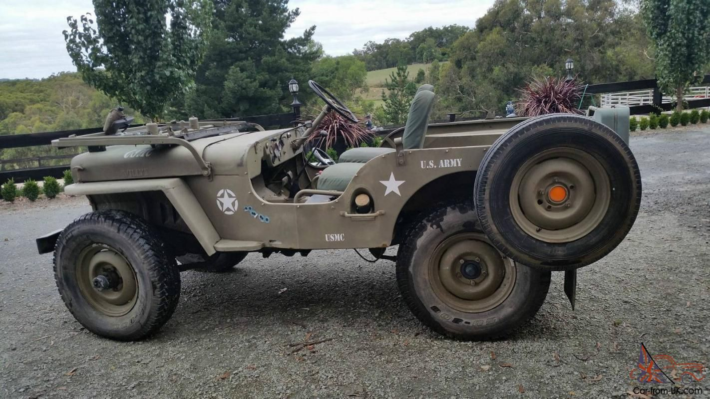 SELLING . Genuine Willys Right Hand Drive Jeep . Ford 6 Cyl Engine ( Please  No