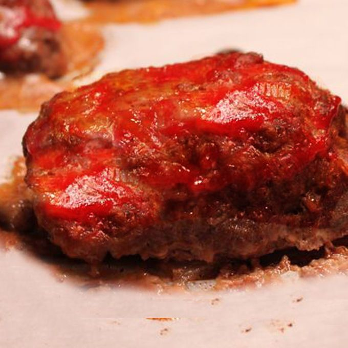 Yield: Makes 4-5 mini meatloaves