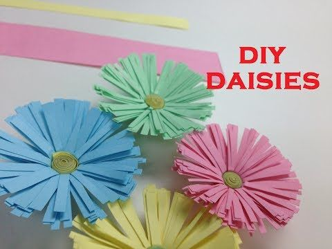 Easy Quick Paper Crafts Diy Diy Paper Flowers Pinterest