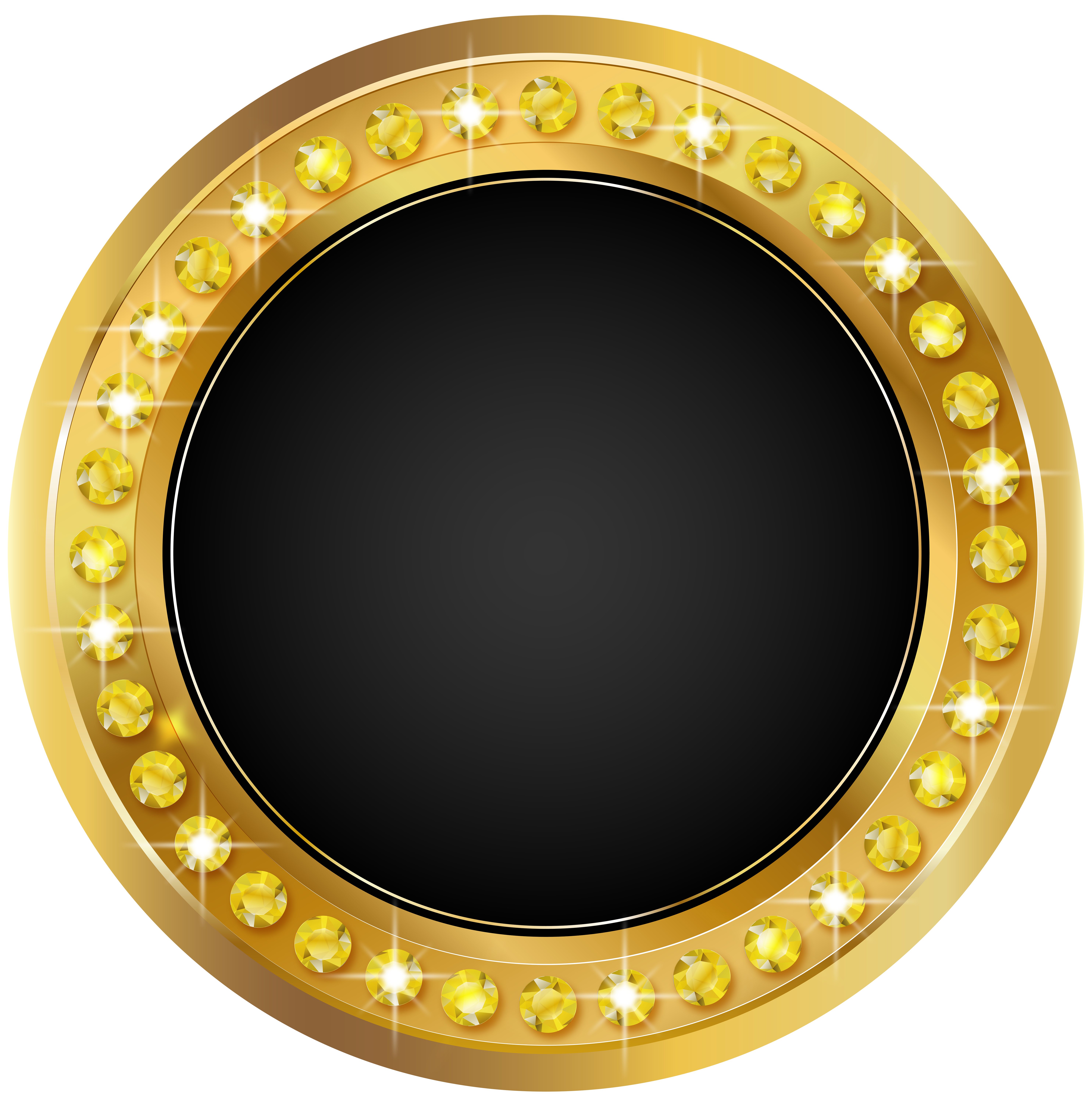Seal Gold Black Png Transparent Clip Art Image Gallery Yopriceville High Quality Images And Transparent Png Free Clip Art Digital Graphics Art Art Images