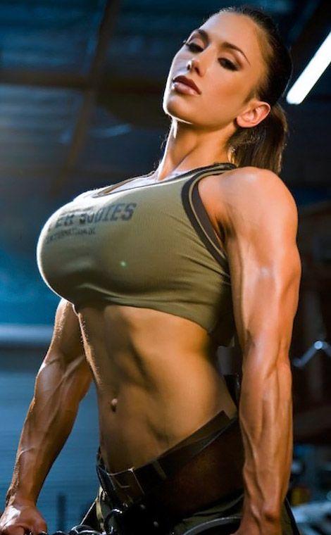 bodybuilding women breast nude