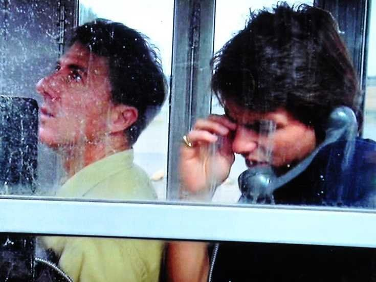 *Rain Man (1988) Dustin Hoffman, Tom Cruise, Valeria Golino - Director: Barry Levinson - Charlie goes looking for the person his father left his fortune to, and finds his brother Raymond, sent away years before for Charlie's protection.
