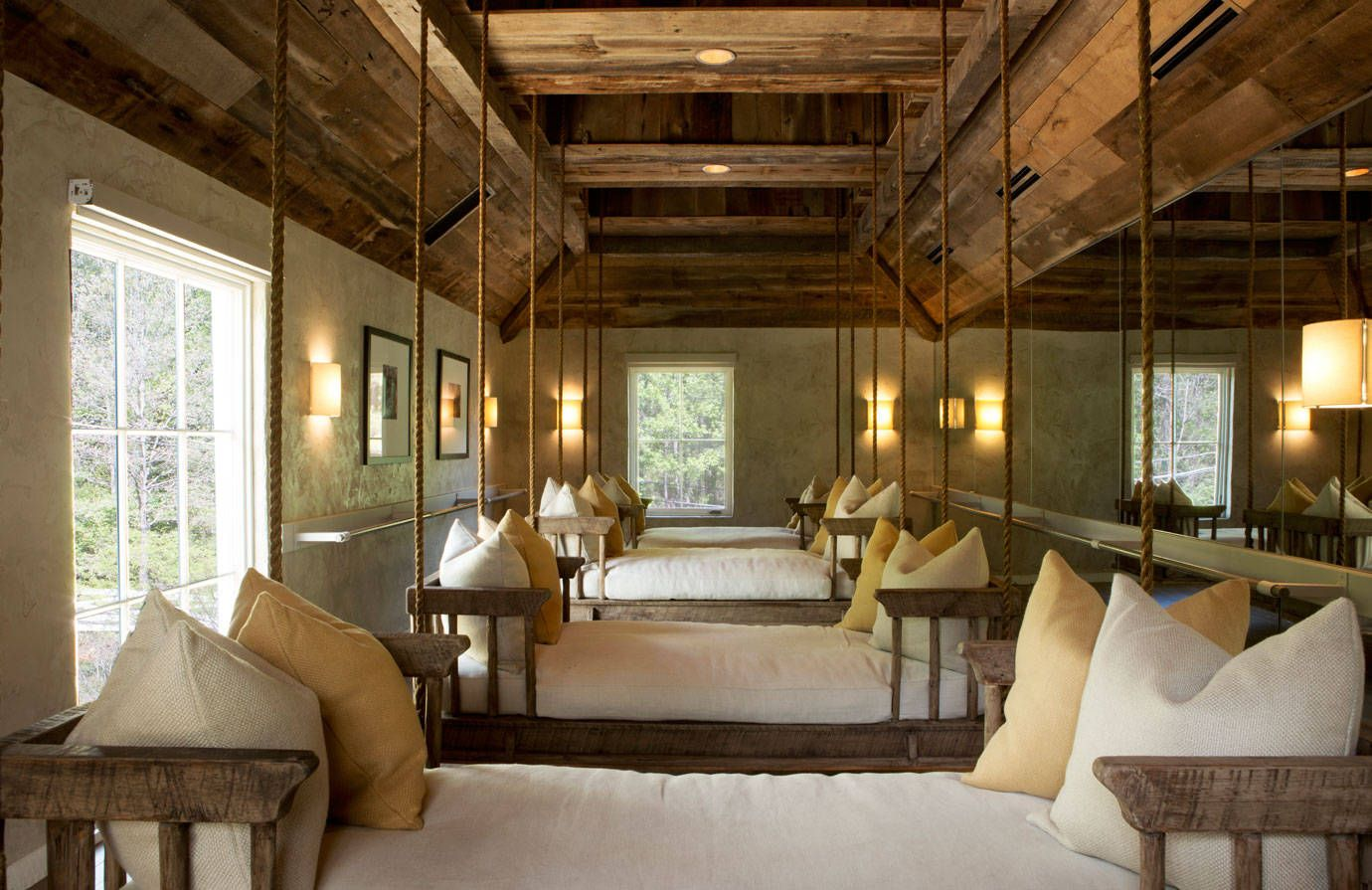 Worth The Trip Blackberry Farm S New Spa Blackberry Farms Salon Interior Design Interior Design Pictures