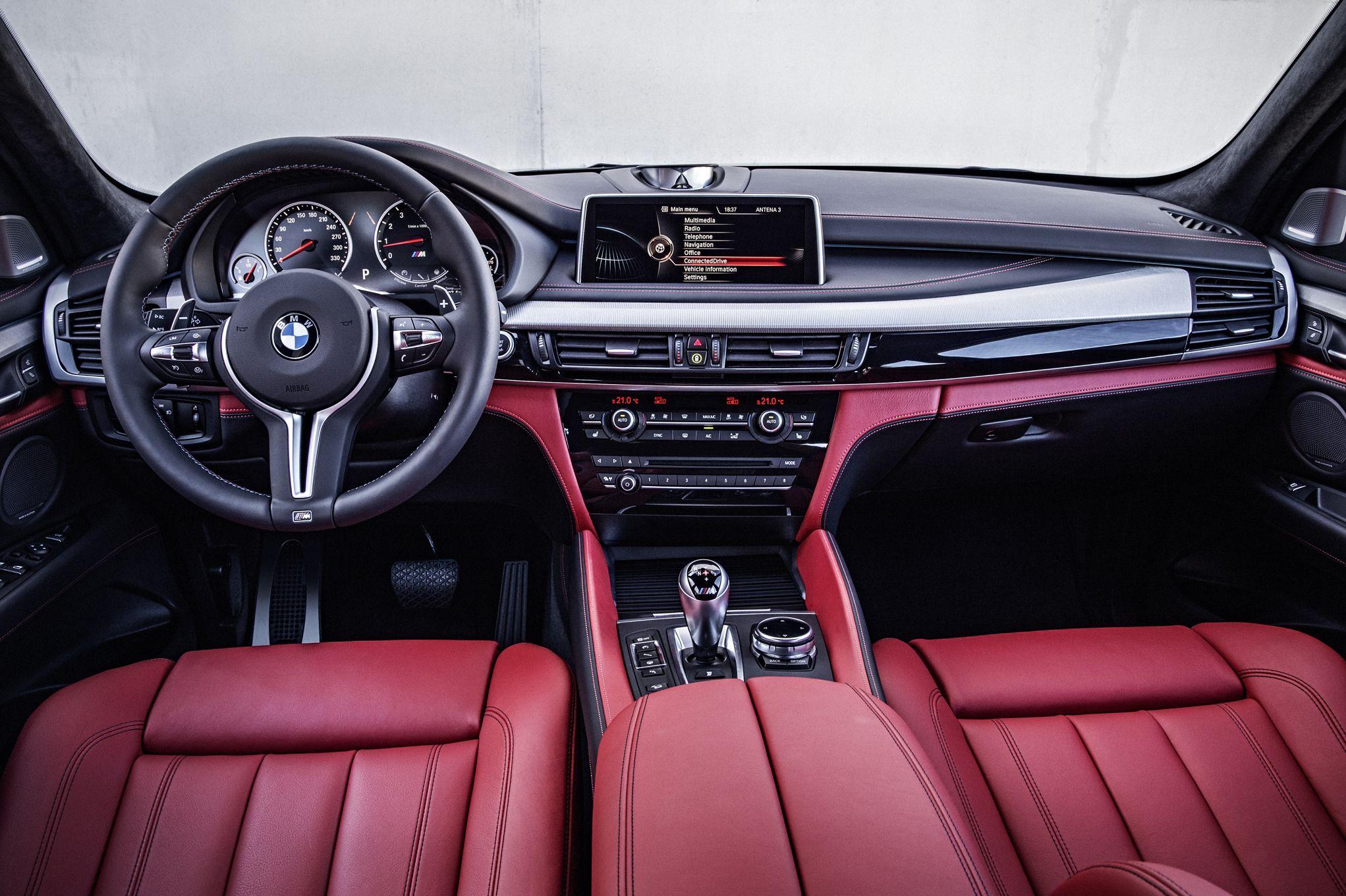 2015 bmw x5 m interior view