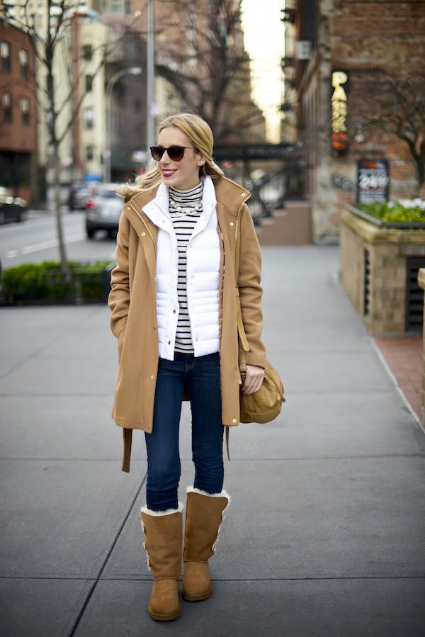 ugg bailey button boots lilly puffer vest katie s bliss my rh pinterest com