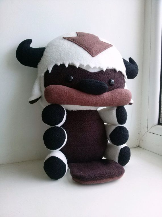 Appa plush The Legend of Korra, Stuffed Flying Bison toy