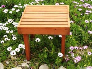 Best Redwood Side Table #garden #gardening #outdoorfurniture #table #patiofurniture