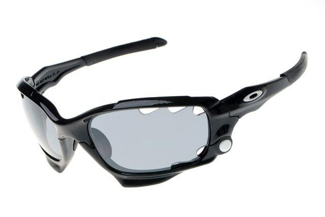 Oakley Jawbone Sunglasses Black Frame Lightgrey Lens #sunglasses