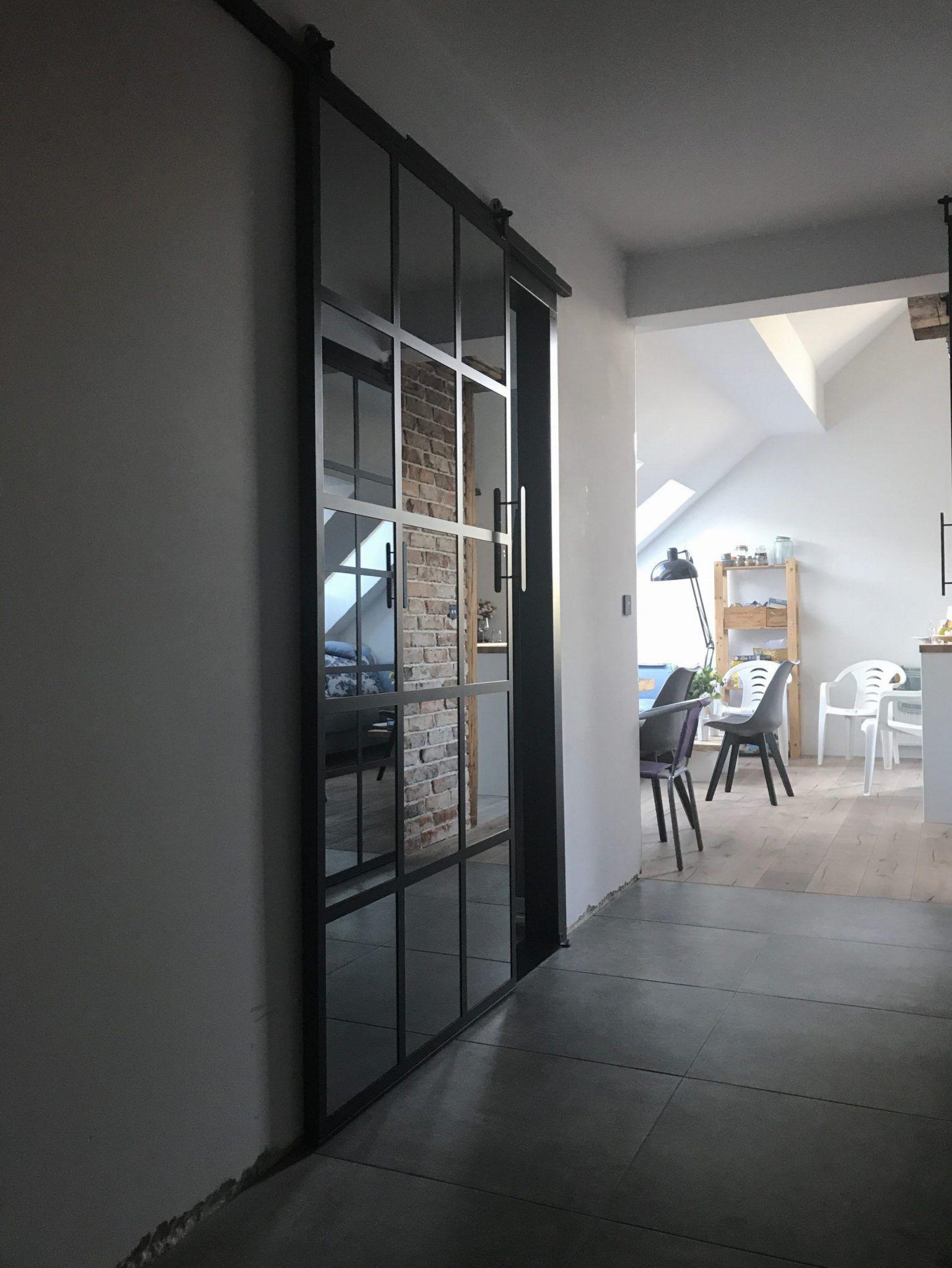 Icon Loft – glass in steel frames. Walls, doors and windows …