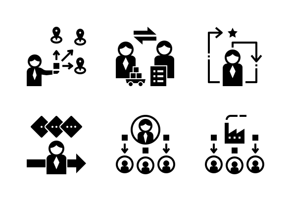 Procurement Process Glyph Icons By Geotatah Glyph Icon Procurement Process Glyphs