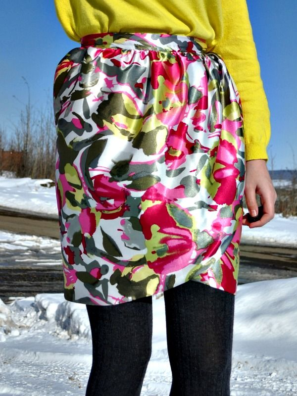 Faux Wrap Tulip Skirt DIY I love this pattern def will choose other Magnificent Pattern Def