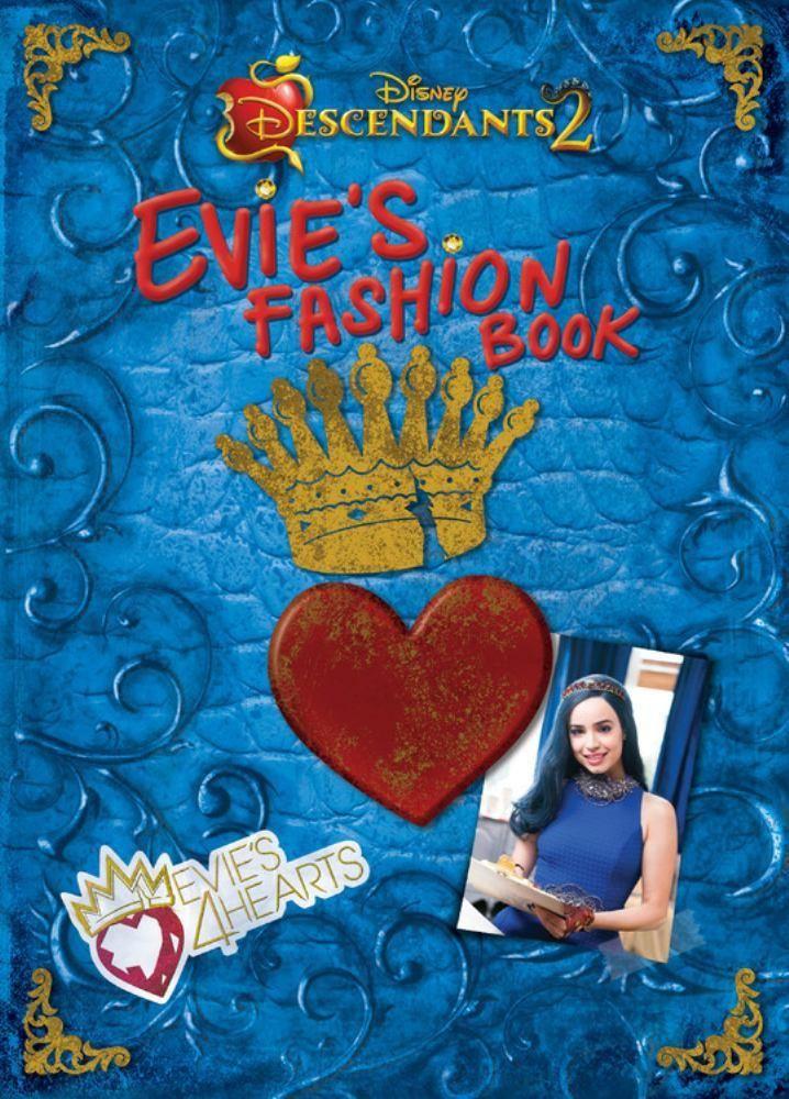 Descendants 2: Evie's Fashion Book (Hardcover)   Descendants