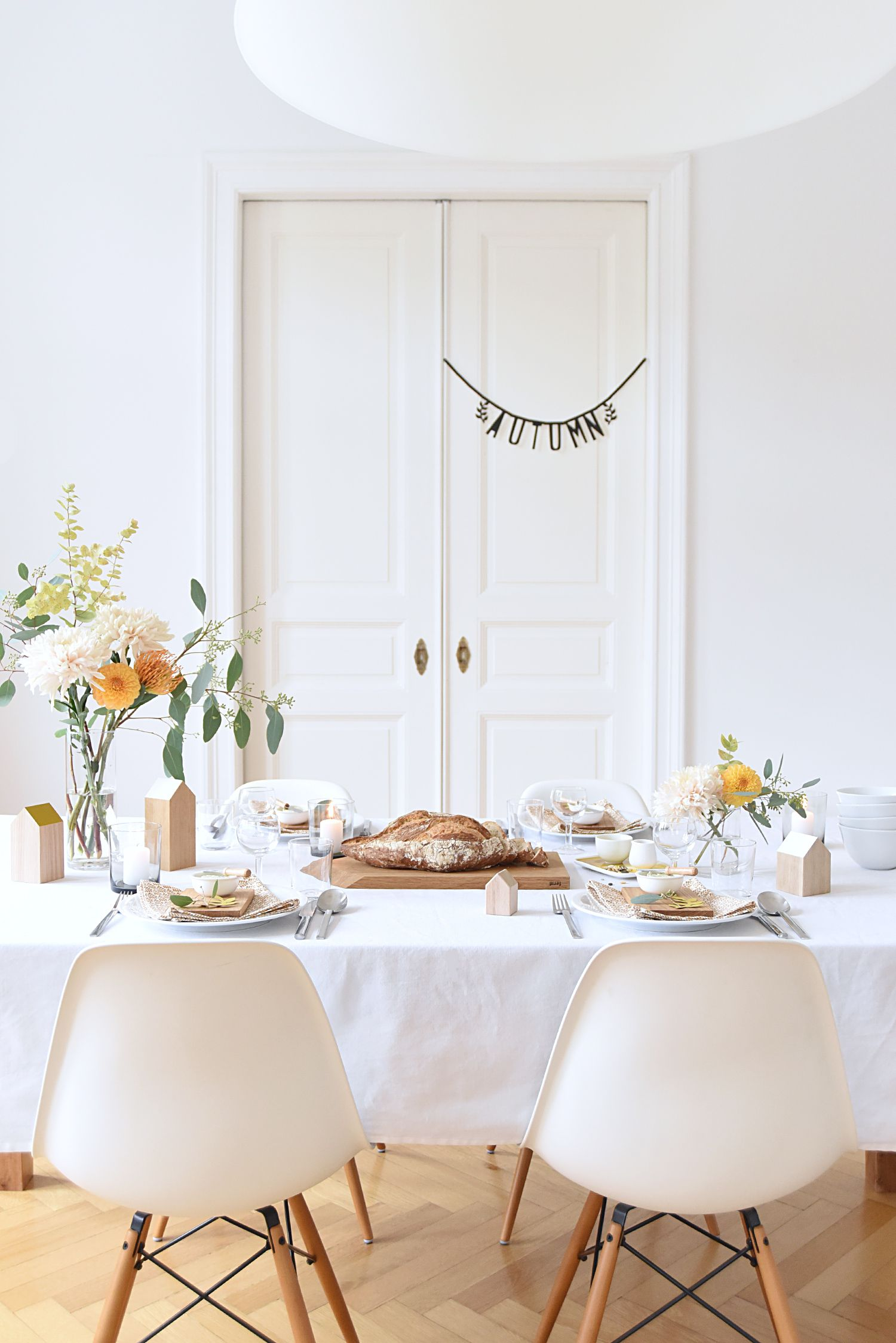 Autumn Dinner Party Entertaining Ideas | Tabletop, Dining and Interiors