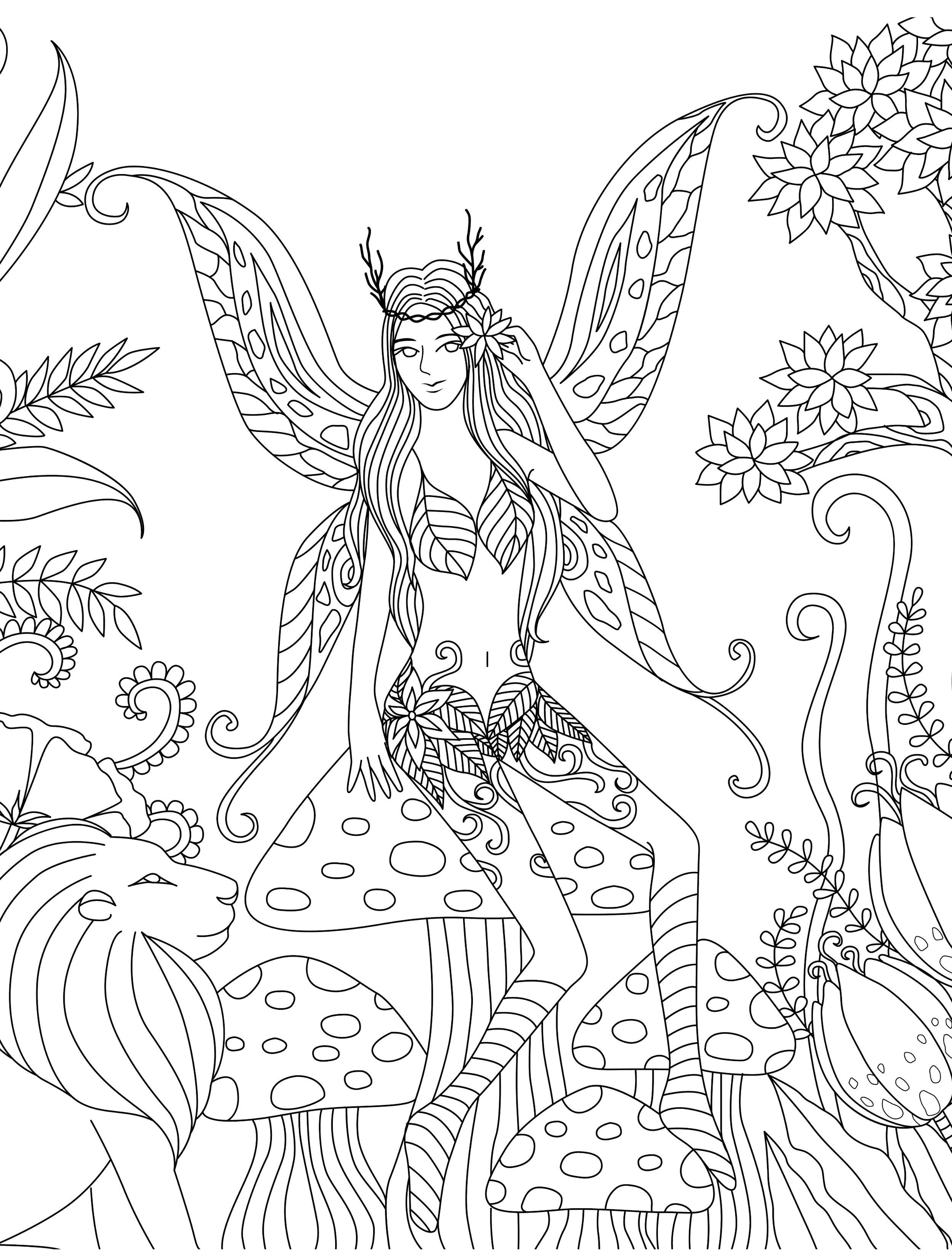gorgeous free printable adult coloring pages coloring in