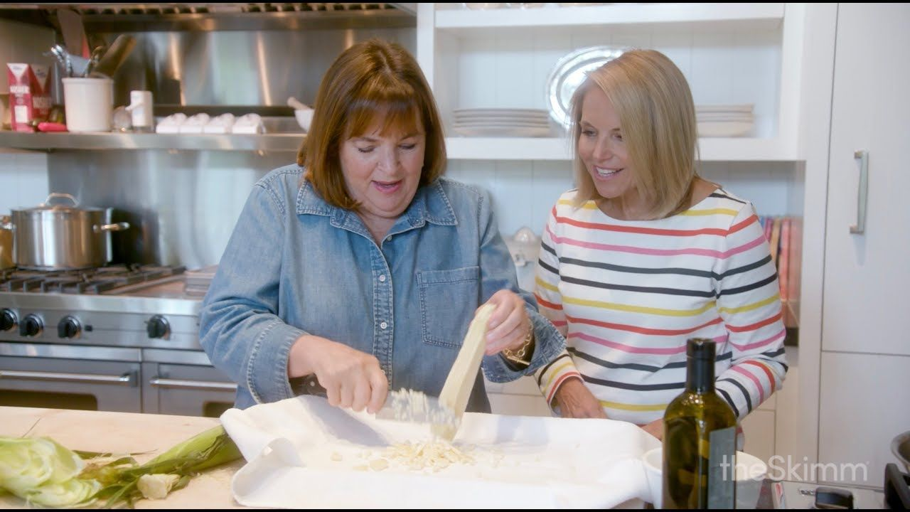 Ina Garten Talks Turning A Passion Into A Career With Katie Couric Theskimm Youtube In 2020 Ina Garten Ina Garten Recipes Katie Couric