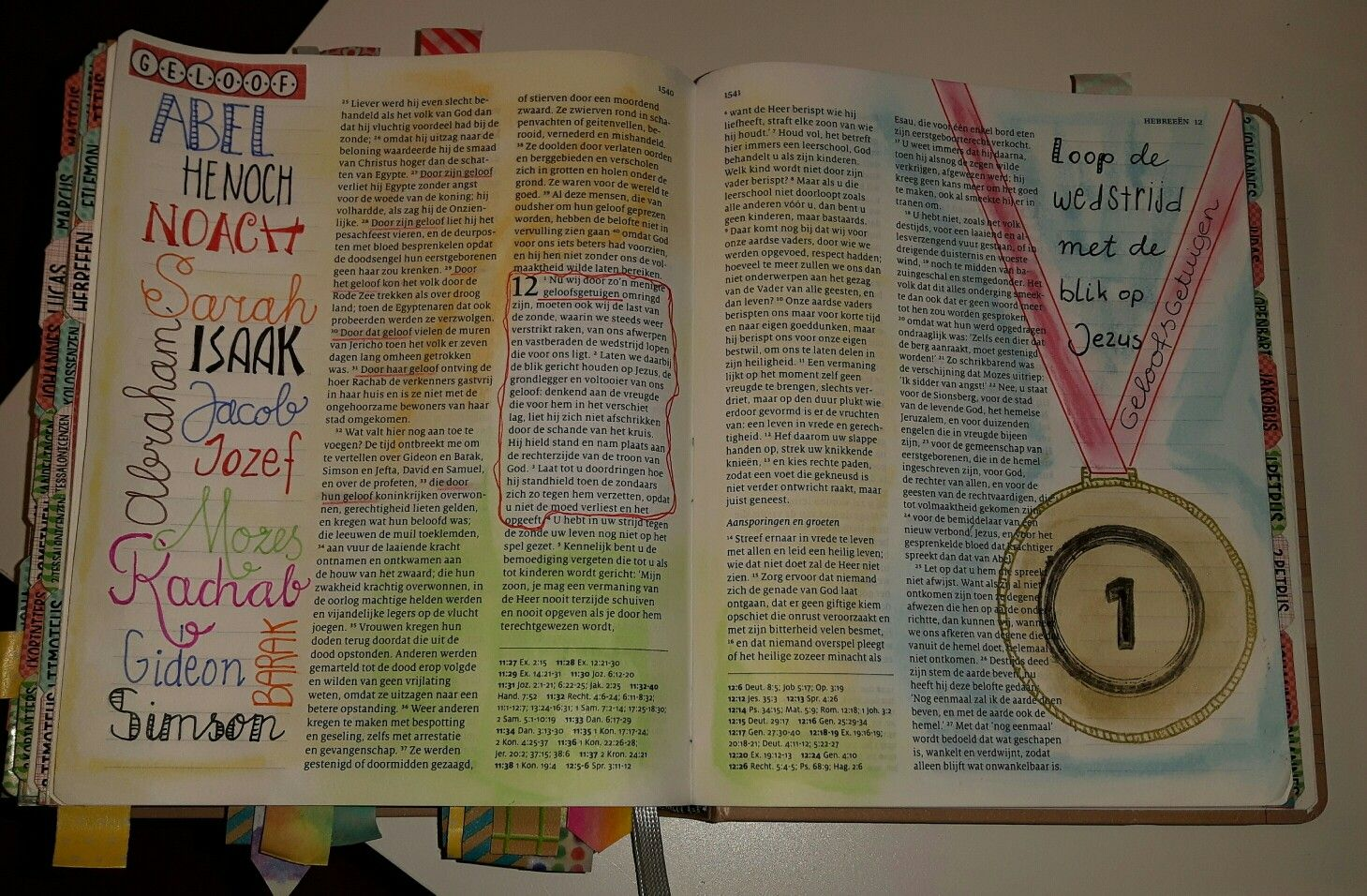 Hebreeën 11 & 12:1-3