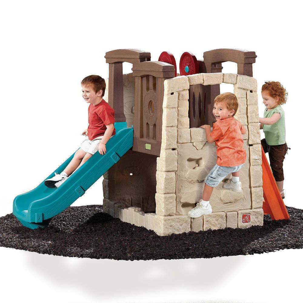 Outside Play Toys For Toddlers : Step naturally playful woodland climber colors styles