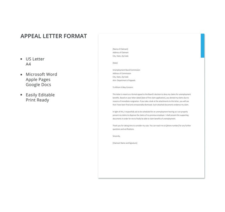 19 Appeal Letter Templates Pdf Doc Lettering Letter N Words
