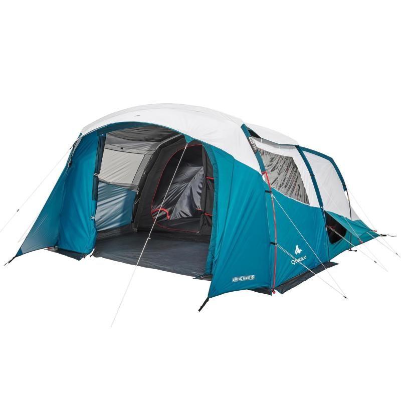 Tente A Arceaux De Camping Arpenaz 5 2 F B 5 Personnes 2 Chambres Camping En Tente Camping Tente Camping