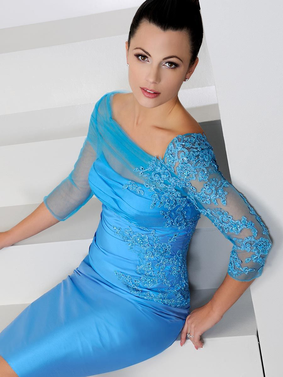 Irresistible IR1275 Azure B | Dresses | Pinterest | Occasion wear ...