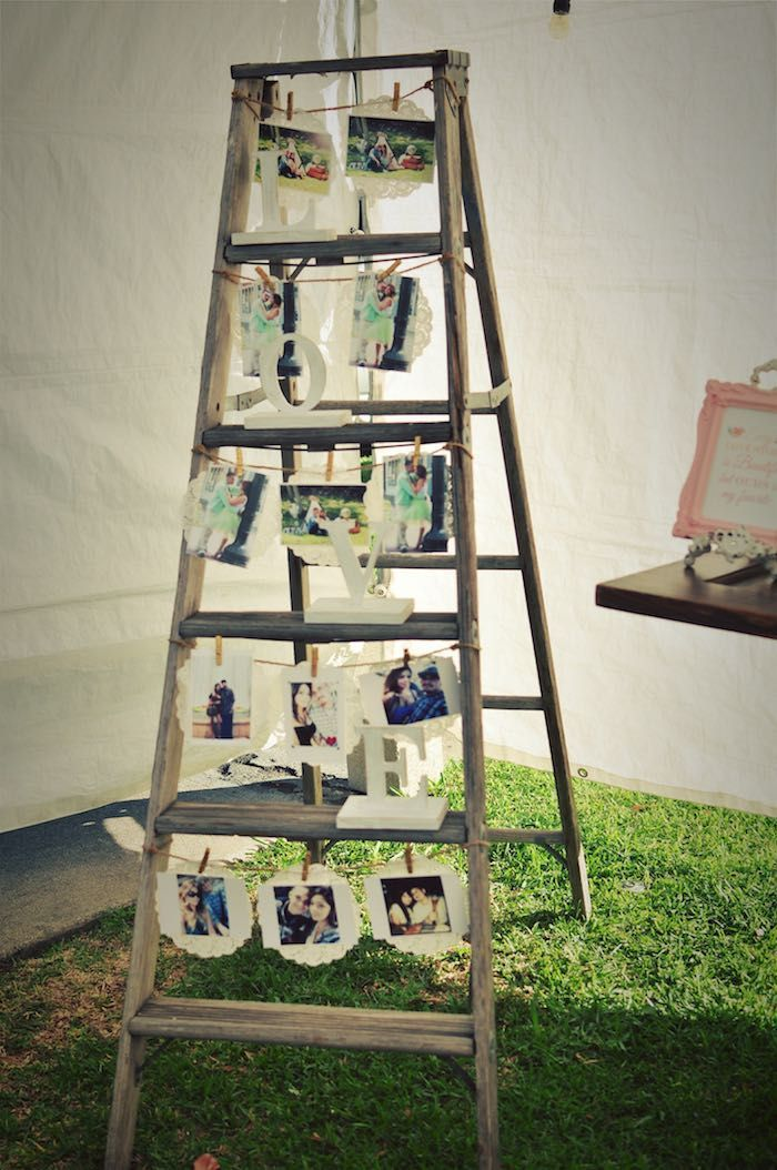 Rustic Chic Engagement Party - #Chic #Engagement #Party #rustic #engagementparty