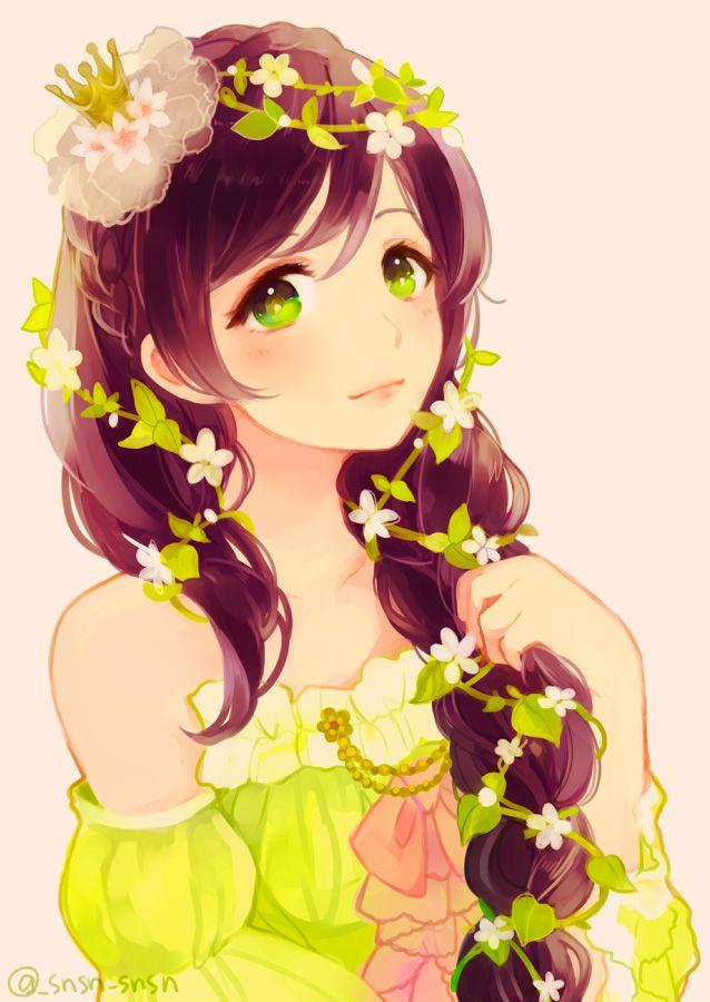 Love Live Nozomi By Hanakazesunsun Draw A Girl With