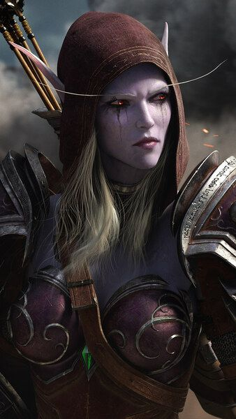 Sylvanas Windrunner Wow 4k Hd Mobile Smartphone And Pc Desktop Laptop Wallpaper 3840x2160 Sylvanas Windrunner World Of Warcraft Wallpaper World Of Warcraft