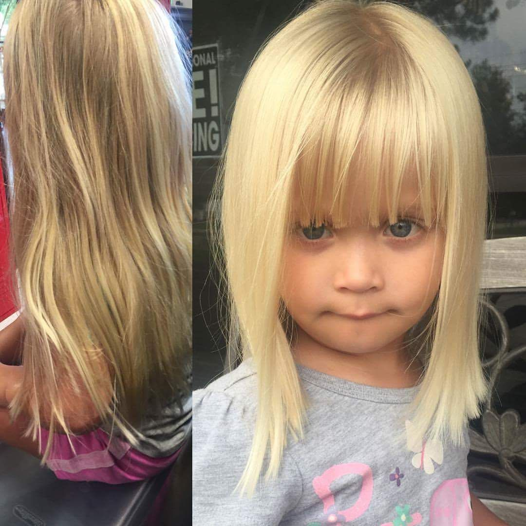 40+ cute little girl haircuts for a new look this summer
