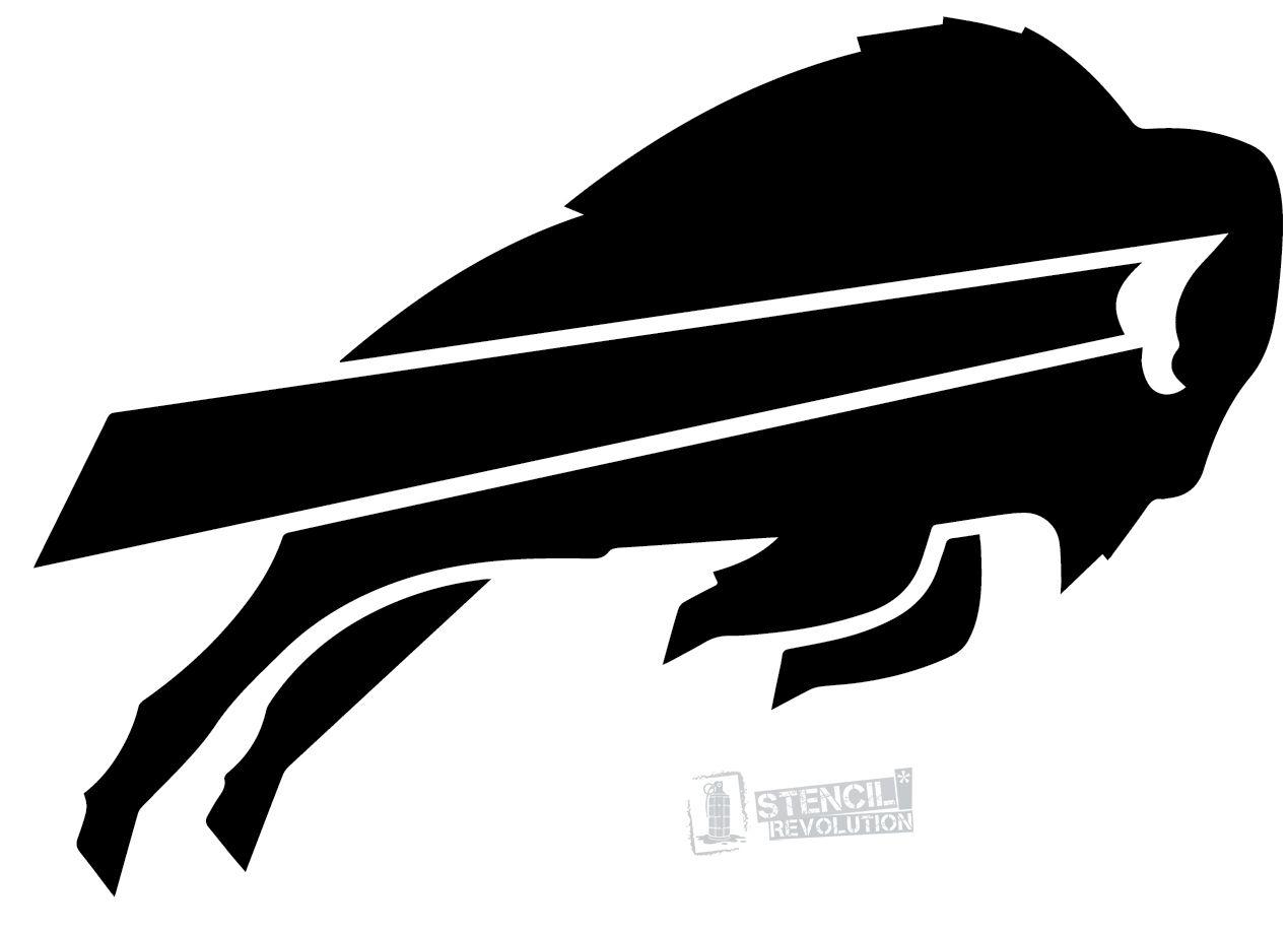 Buffalo Bills Stencils All Things Cricut Pinterest Buffalo