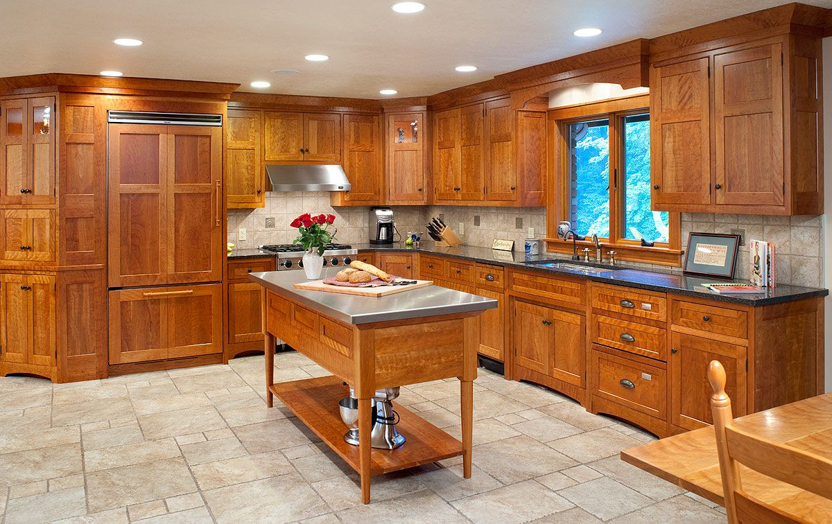 Arts And Crafts Kitchen Island Plans