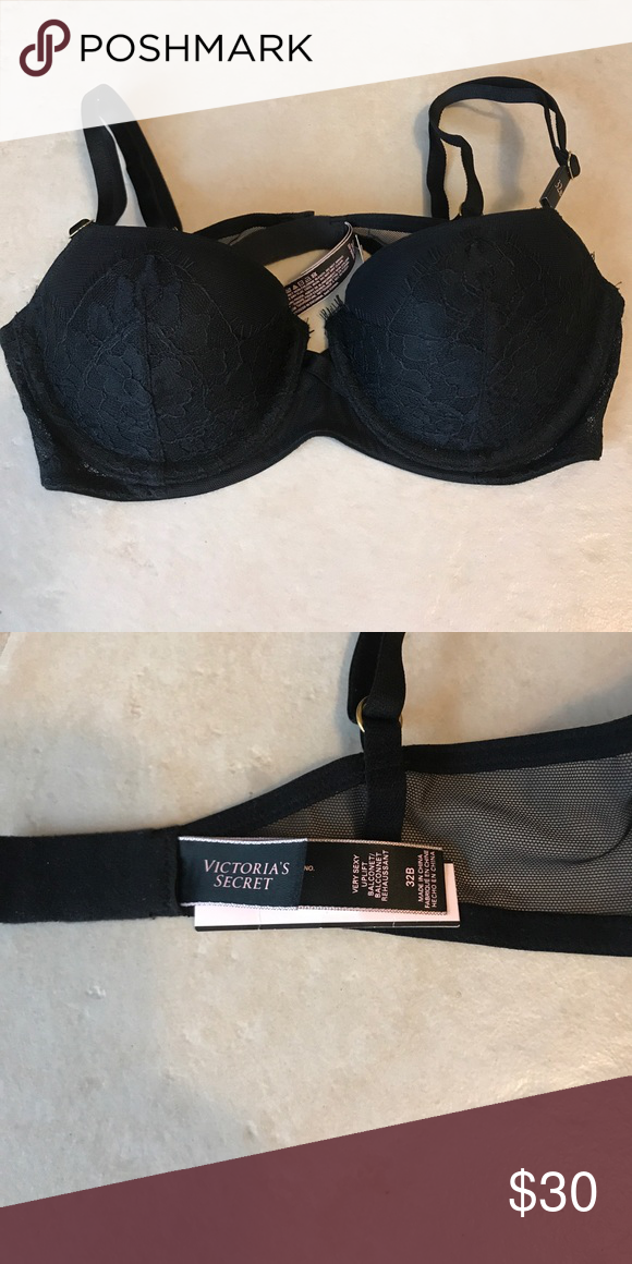 bd1269c4a ... Secret Bra 32B NWT Victoria s Secret bra size 32B. Tag style details  say  very sexy