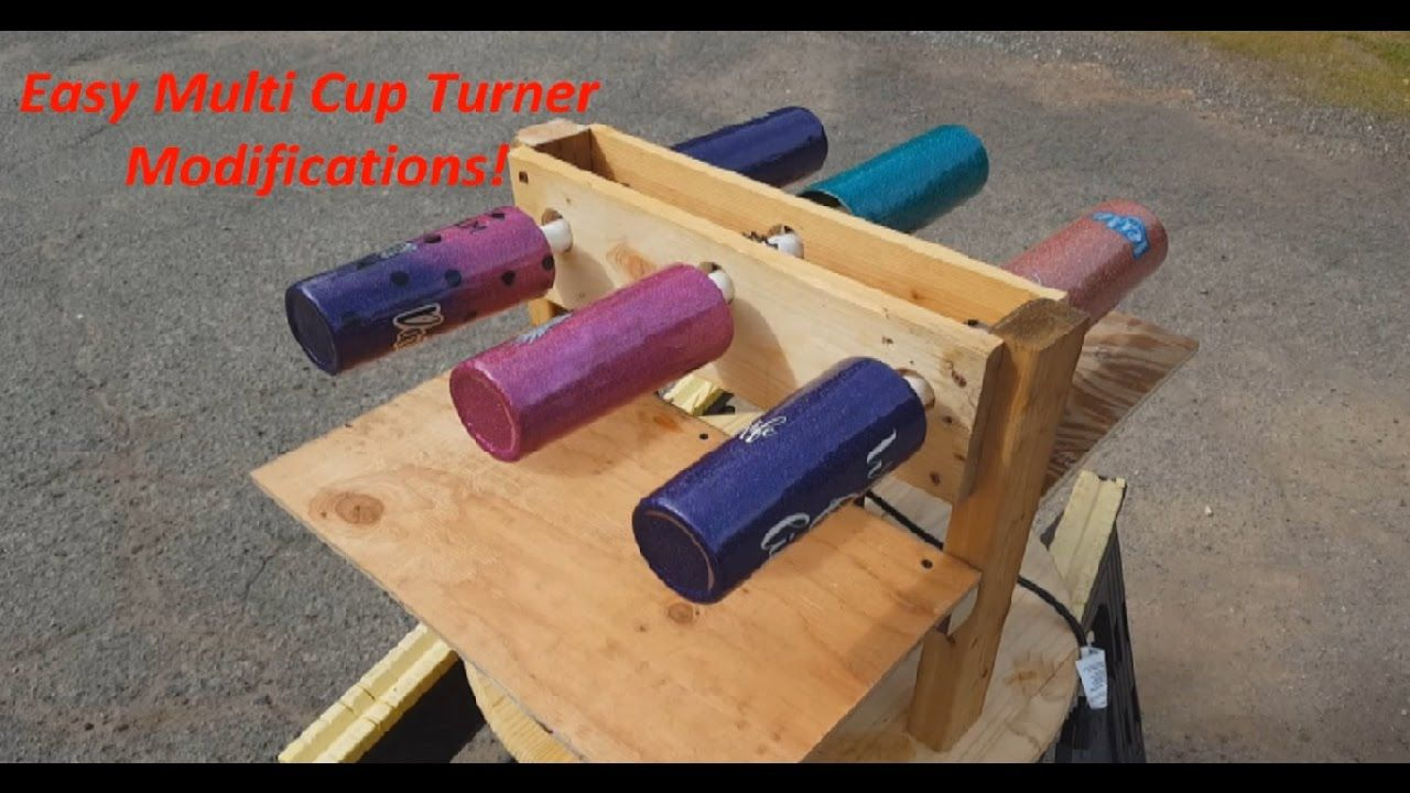 Cup Turner for Crafts Tumbler,Tumbler Cuptisserie Kit with Motor-Perfect for Glitter Epoxy Tumbler DIY Crafting