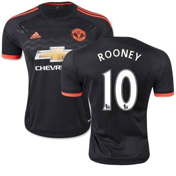Wayne Rooney #10 2015 Manchester United Third Soccer Jersey