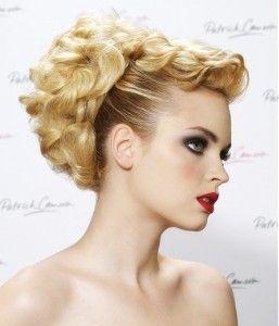 Patrick Cameron bridal hair