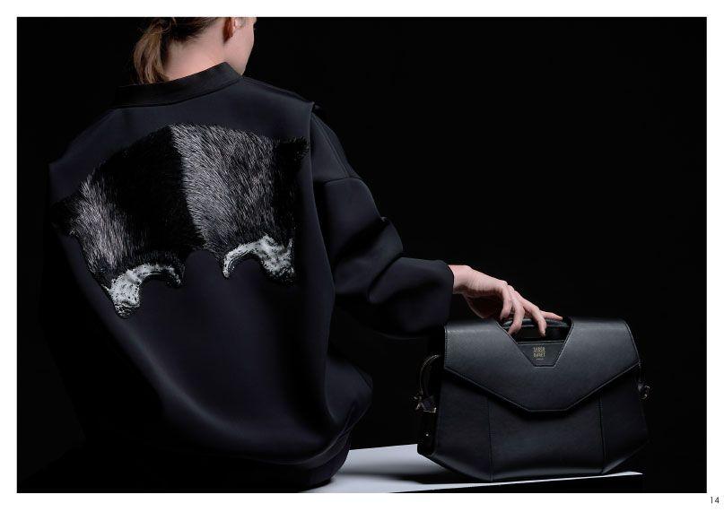#SaccoBaret Collection Lookbook   VENDÔME Classique, Shoulder bag #Plumasserie