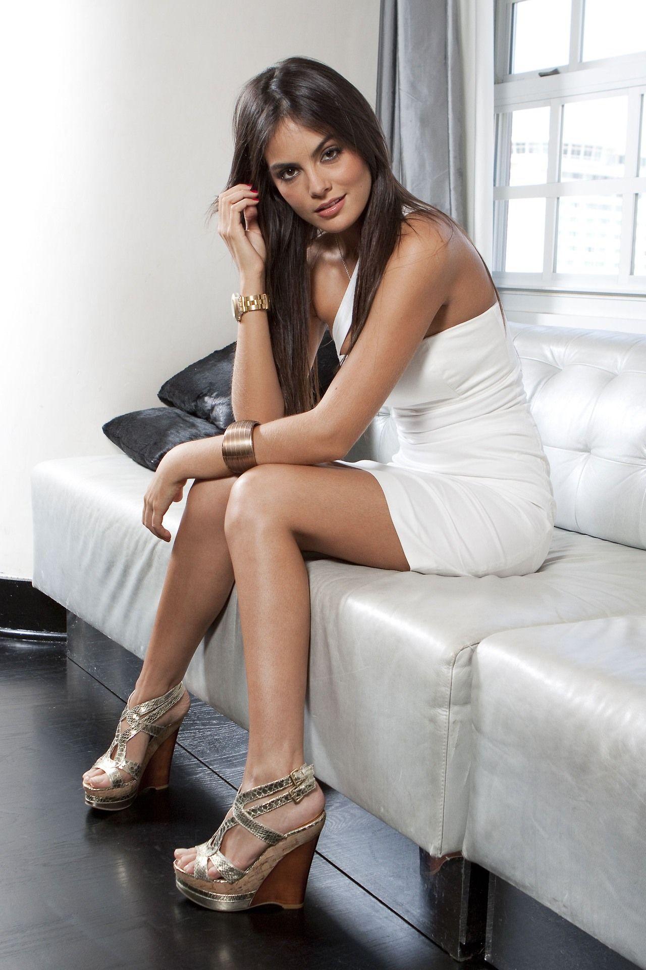 Latin beauties in high heels