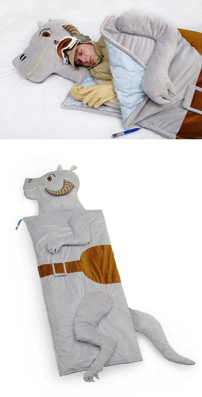 Star Wars Tauntaun sleeping bag: you have to be kinda into Star Wars here to get the joke