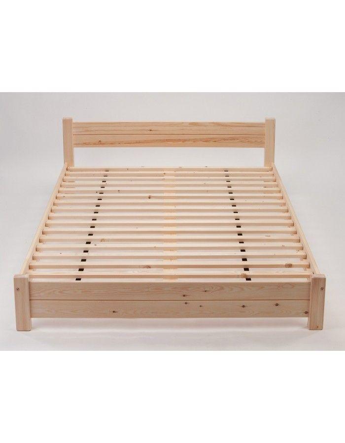 Osaka Futon Bed Simple Style Redwood Pine Frame