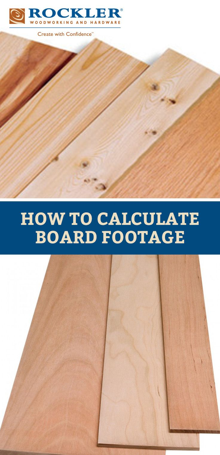 How Do You Properly Calculate Board Footage For A Project
