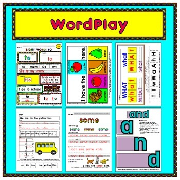 "This MEGA-BUNDLE has 25 sight words! Each sight word has six fun reproducible activities! This title includes 150 black and white student reproducibles PLUS 150 full color teacher examples for a total of 300 pages!   I am so sure that you will LIKE this product, you can download the entire LIKE sight word file for FREE! (Click ""preview"" above) Try it out with your students."
