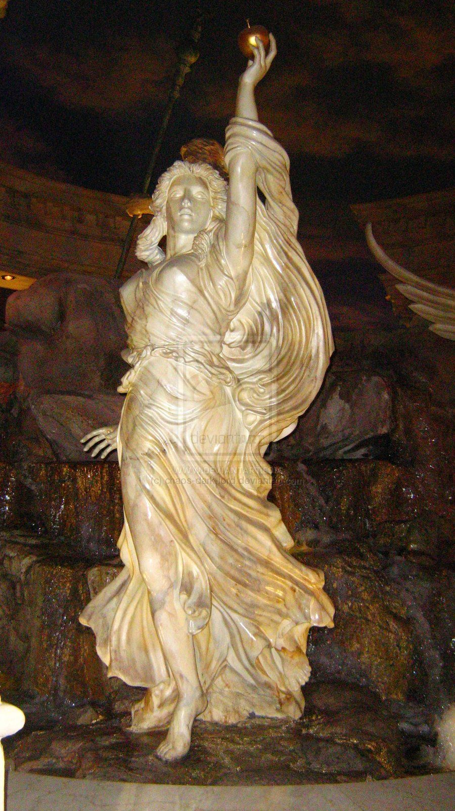 Ancient Gaia Statue eris goddess of discord statues | eris goddess of chaos and