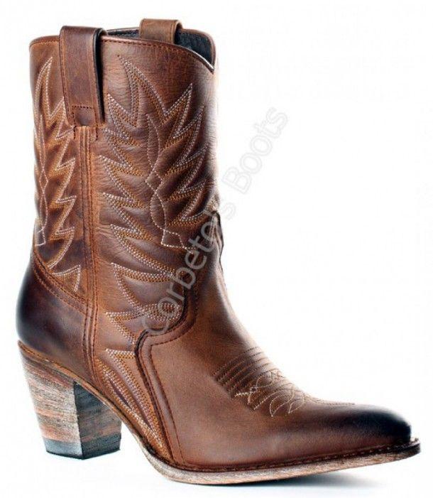 Nana Floter Boots Bota Marrón Ours Corbeto's 10318 Cowboy Usado wBEdtdq