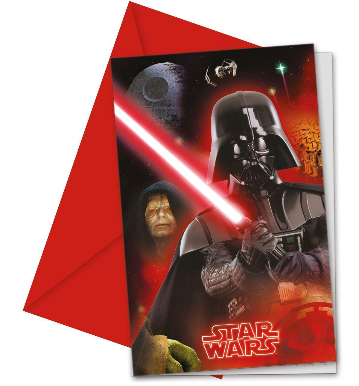 Star Wars Final Battle - kutsukortti