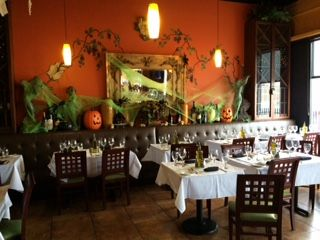 It's Fall in Ciao Bella! #happyhalloween #October #Fall #Pumpkins #Lounge #bar #privateparties #ciaobella