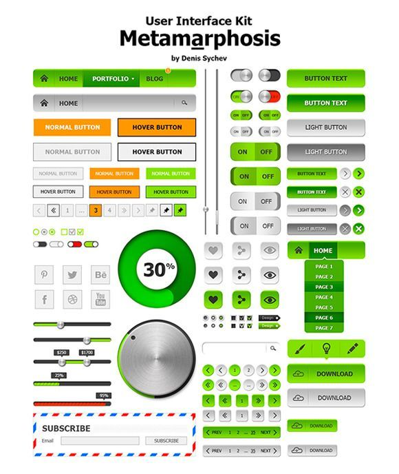cool  Metamarphosis UI Kit