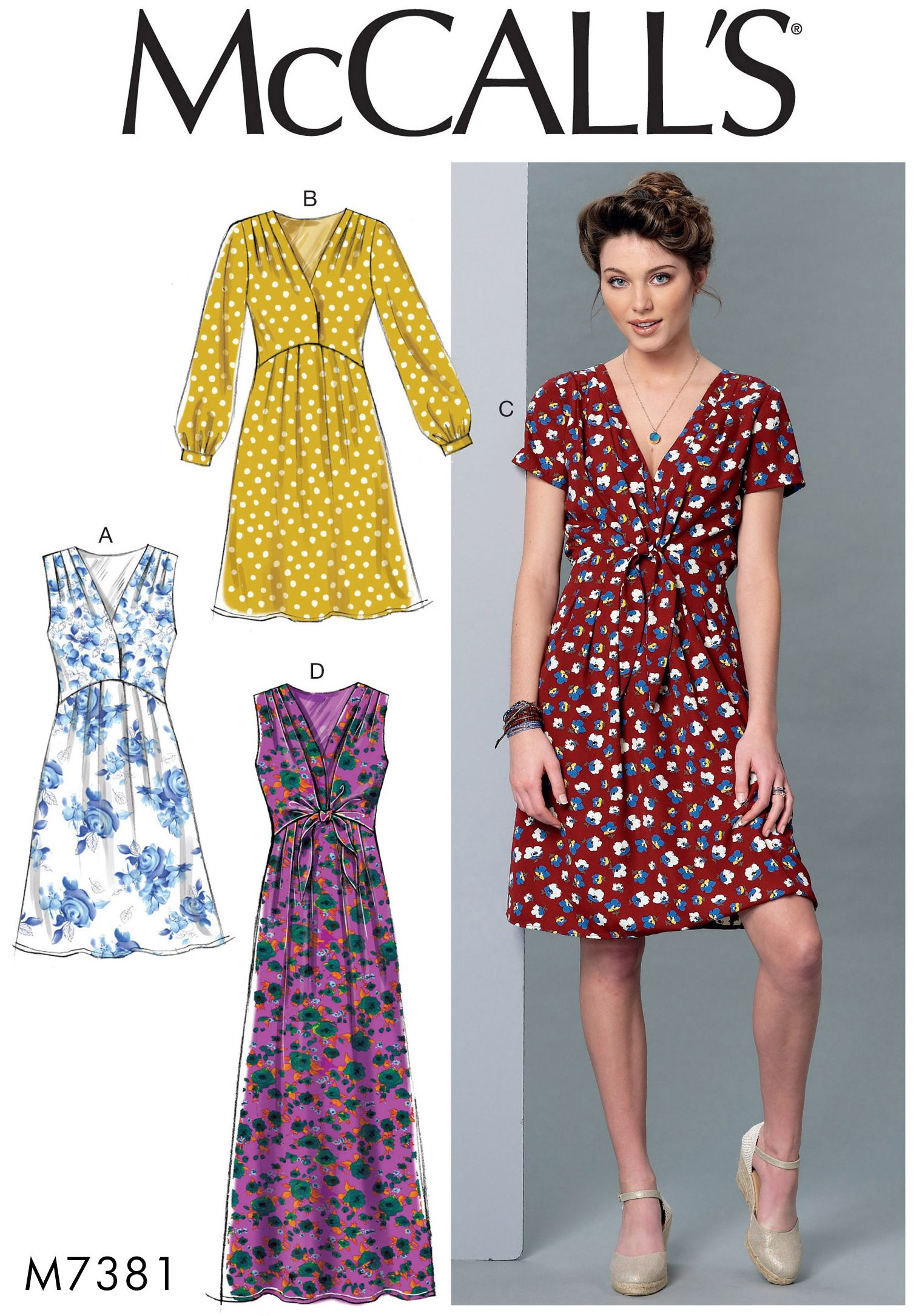 sewingpatterns | sewing pattern women dress, pattern