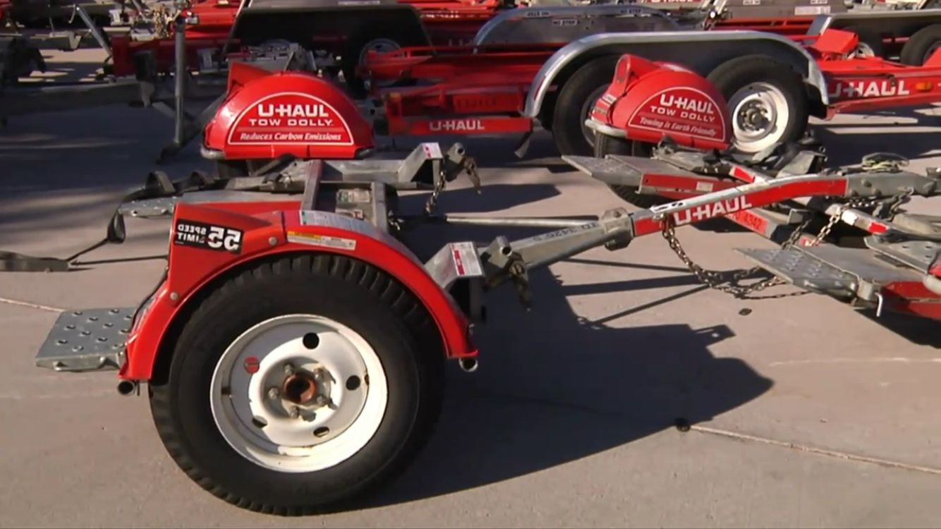 U-Haul tow dollies and auto transports. | Trailer dolly