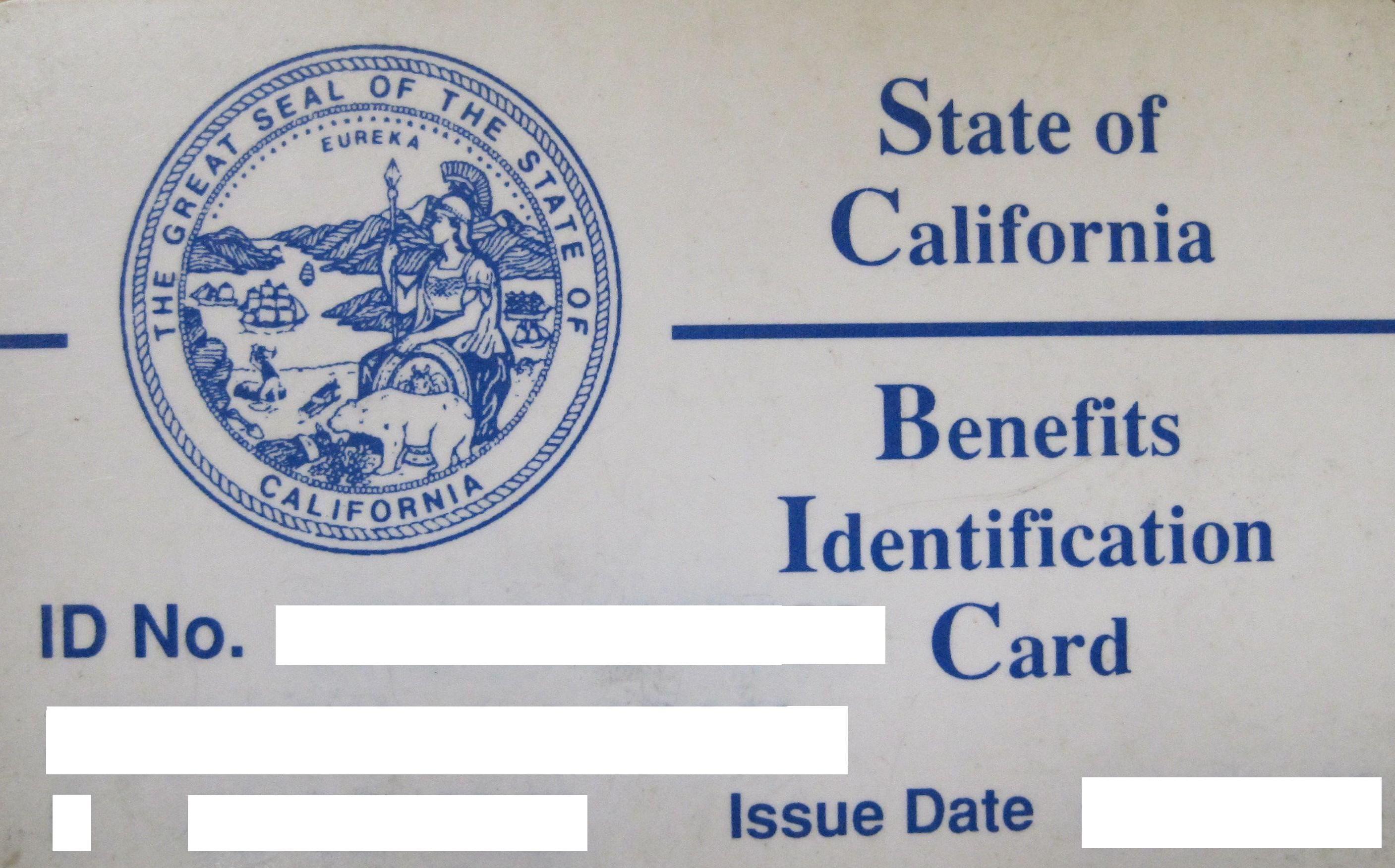 4 medi cal sample bic card cards medical billing